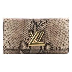 Louis Vuitton Twist Wallet Python