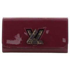 Louis Vuitton Twist Wallet Vernis With Monogram Canvas