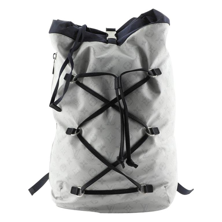 Louis Vuitton Ultralight Backpack Limited Edition Monogram White Canvas