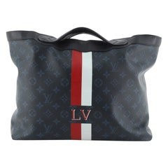 Louis Vuitton Ultralight Tote Monogram Cobalt Canvas