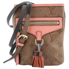 Louis Vuitton Underground Flat Bag Monogram Empreinte Leather