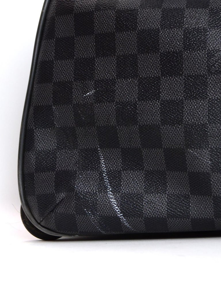 fe2193ff0693 Louis Vuitton Unisex Damier Graphite Canvas Neo Eole 65 Rolling Luggage For  Sale 2