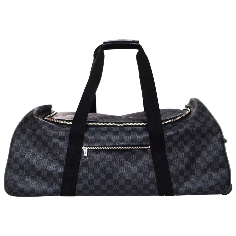 c9dc096ea4d2 Louis Vuitton Unisex Damier Graphite Canvas Neo Eole 65 Rolling Luggage For  Sale at 1stdibs