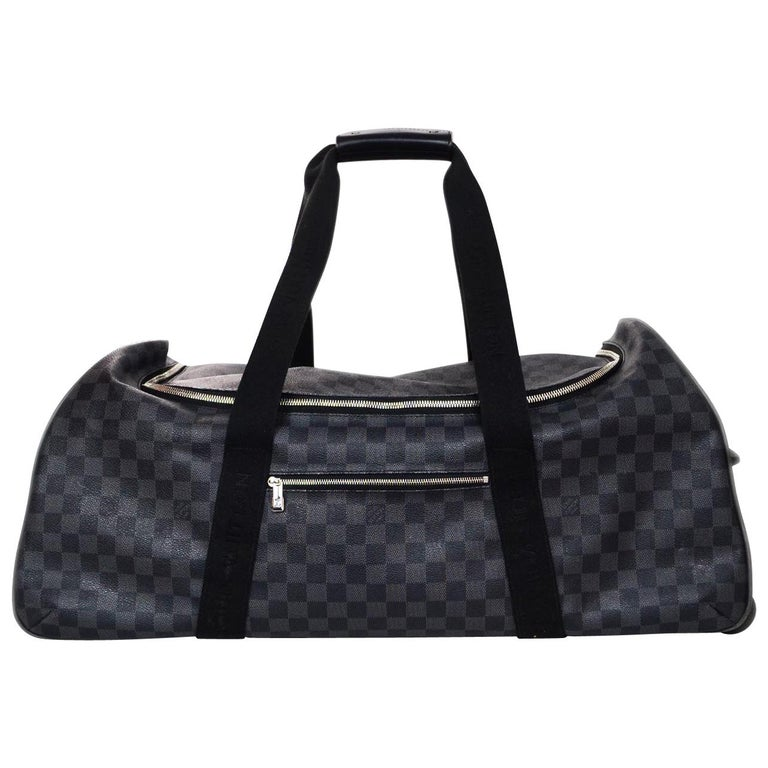 59cf9993fed1 Louis Vuitton Unisex Damier Graphite Canvas Neo Eole 65 Rolling Luggage For  Sale