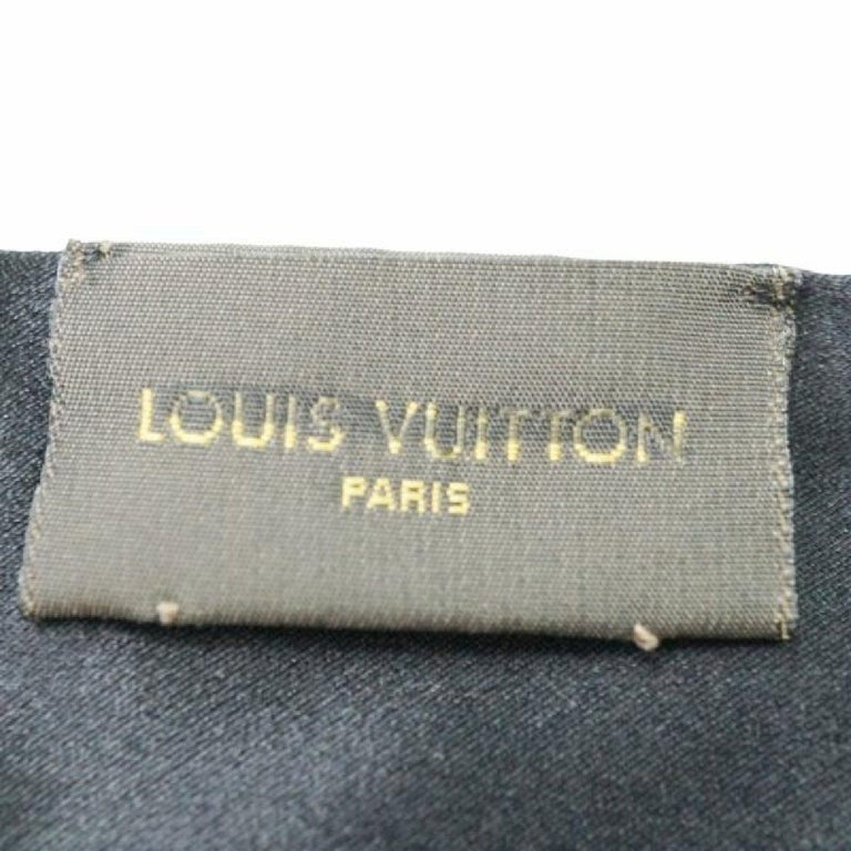Women's or Men's LOUIS VUITTON unisex stall M75771 black x gray x Navy For Sale