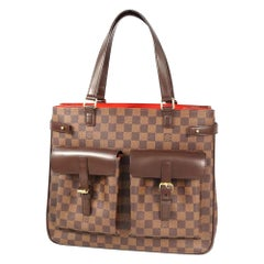 LOUIS VUITTON Uzes Womens tote bag N51128 Damier ebene