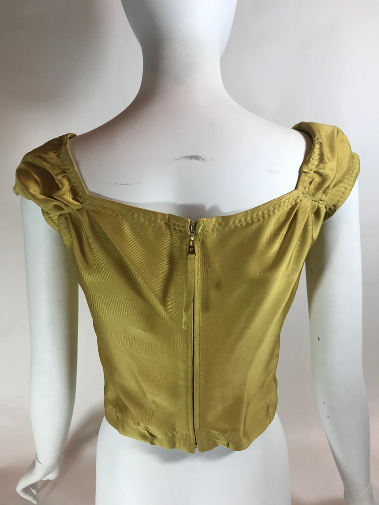 Louis Vuitton V-Neck Sleeveless Top In Good Condition For Sale In Roslyn, NY