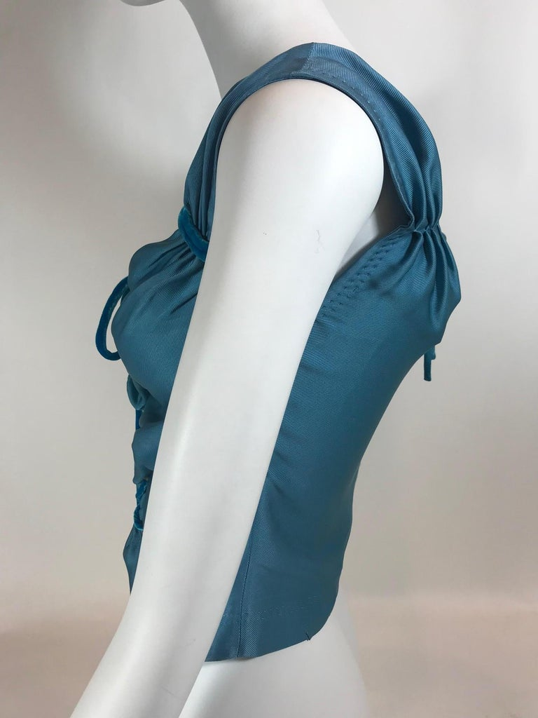 Women's Louis Vuitton V-Neck Sleeveless Top For Sale