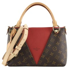 Louis Vuitton V Tote Monogram Canvas and Leather BB