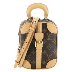 Louis Vuitton Valisette Verticale Bag Monogram Canvas