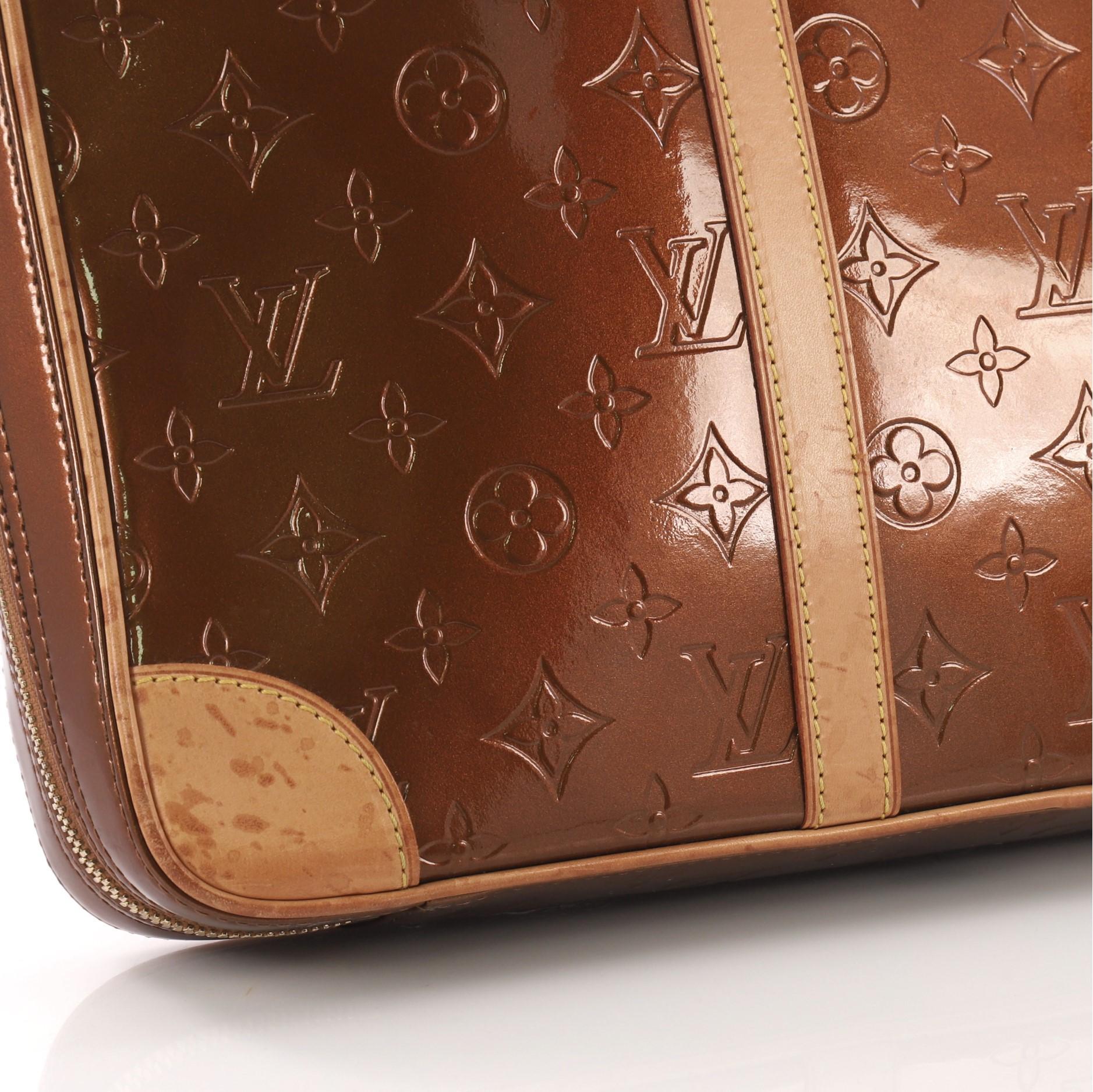 990595536a282 Louis Vuitton Vandam Handtasche Monogram Vernis im Angebot bei 1stdibs