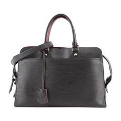 Louis Vuitton Vaneau Handbag Epi Leather GM