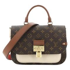 Louis Vuitton Vaugirard Handbag Monogram Canvas with Leather