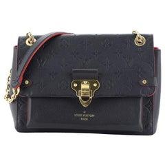 Louis Vuitton Vavin Handbag Monogram Empreinte Leather MM