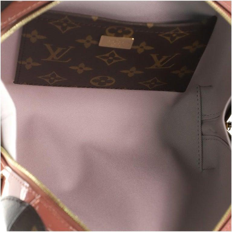Women's or Men's Louis Vuitton Venice Handbag Vernis with Monogram Canvas