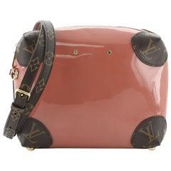 Louis Vuitton Venice Handbag Vernis with Monogram Canvas