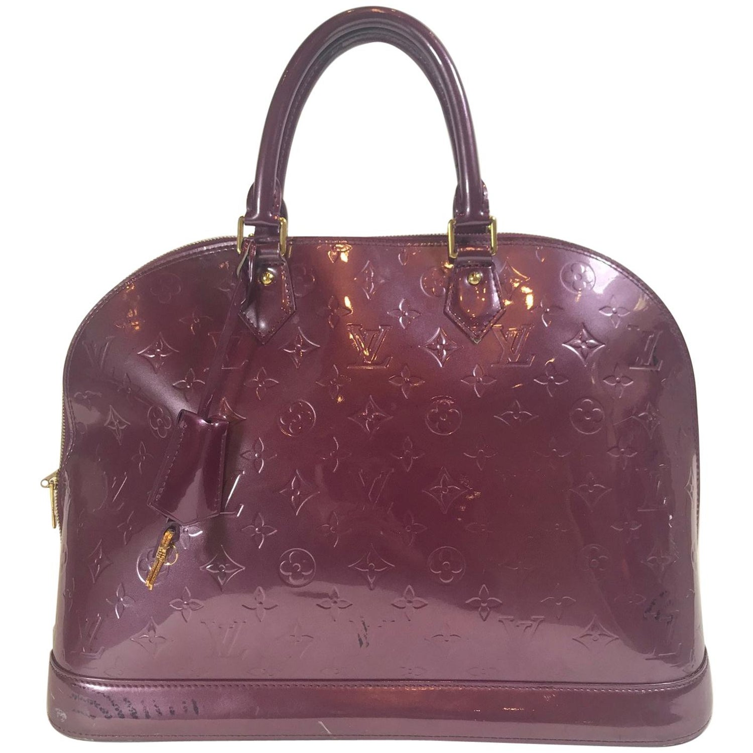 Louis Vuitton Vernis Alma GM For Sale at 1stdibs 135792ba0052f