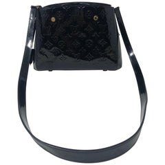 Louis Vuitton Vernis Black Montaigne BB Bag