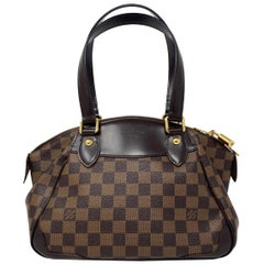 Louis Vuitton Verona PM Damier Ebene Canvas Handbag