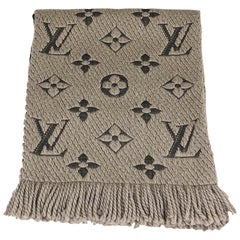Louis Vuitton Verone Logomania Monogram Wool Scarf