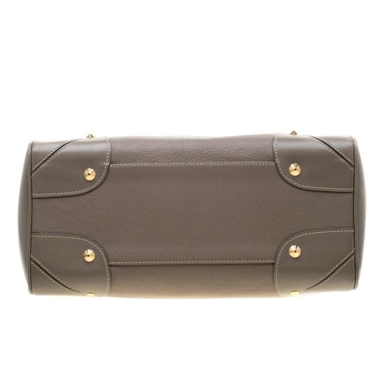 Louis Vuitton Verone Suhali Leather Le Radieux Bag For Sale 5