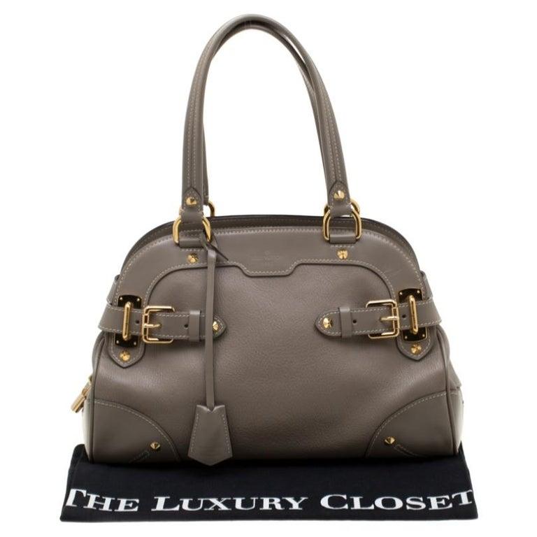 Louis Vuitton Verone Suhali Leather Le Radieux Bag For Sale 7