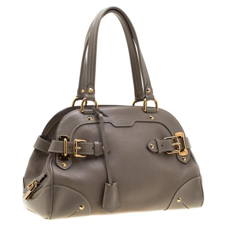 Louis Vuitton Verone Suhali Leather Le Radieux Bag In Fair Condition For Sale In Dubai, Al Qouz 2