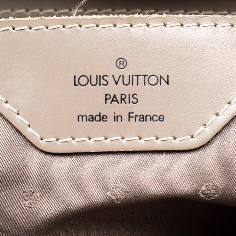Louis Vuitton Verone Suhali Leather Le Radieux Bag For Sale 1