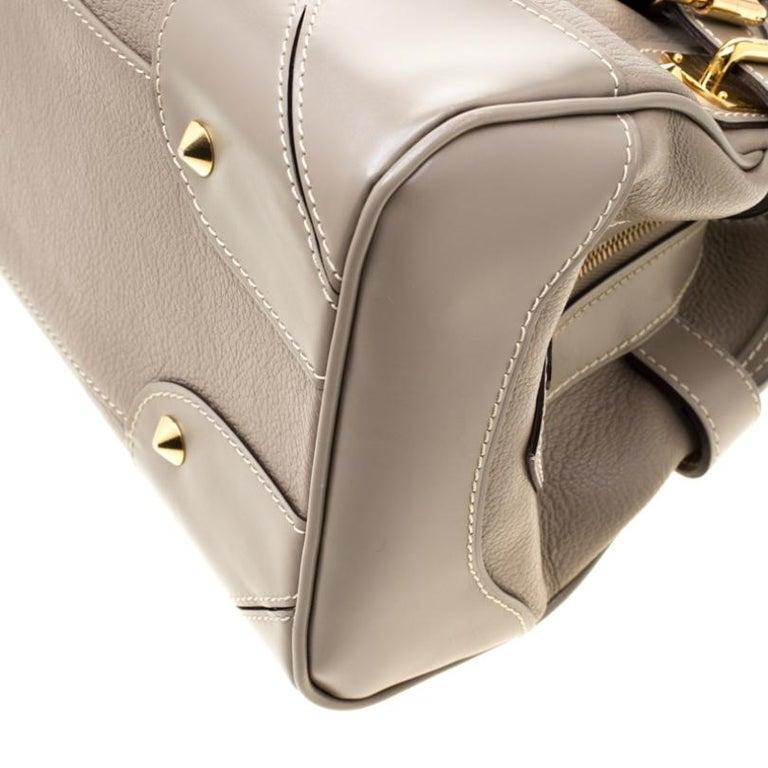 Louis Vuitton Verone Suhali Leather Le Radieux Bag For Sale 3