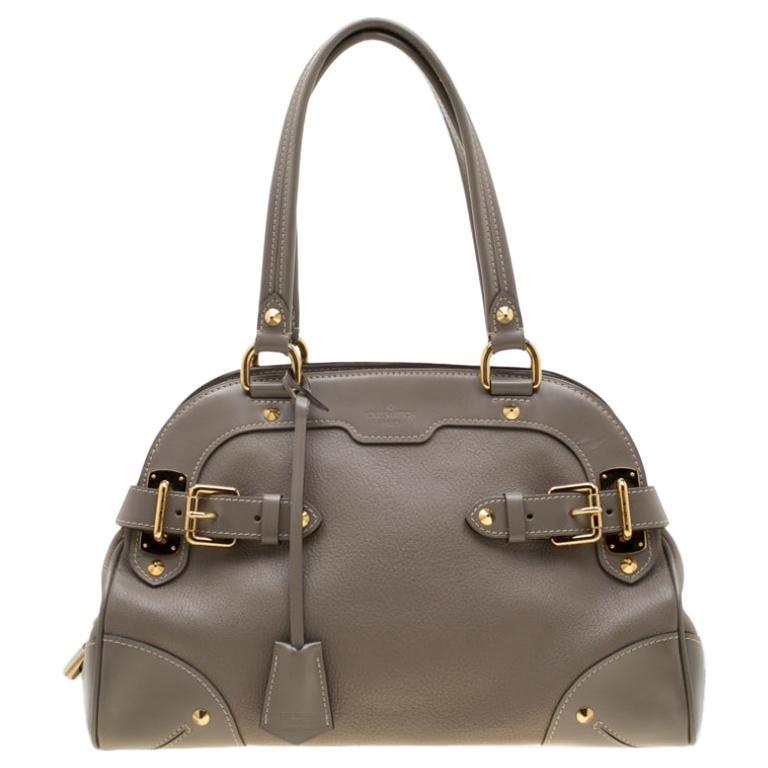 Louis Vuitton Verone Suhali Leather Le Radieux Bag For Sale