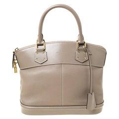 Louis Vuitton Verone Suhali Leather Lockit PM Bag