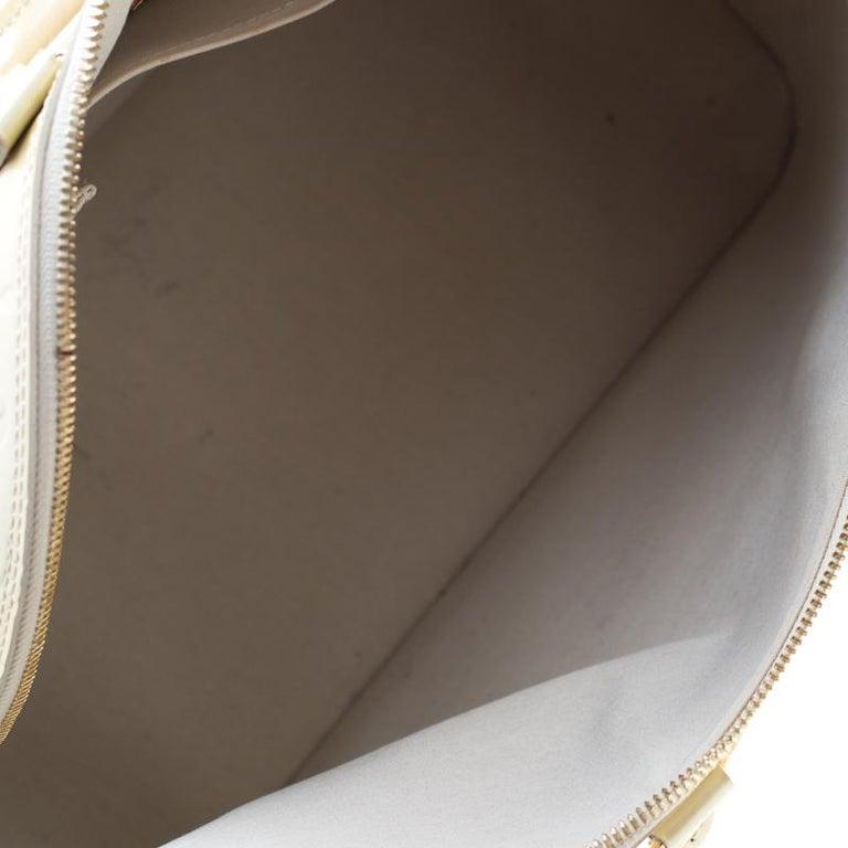 Women's Louis Vuitton Vert Impression Monogram Vernis Alma GM Bag For Sale