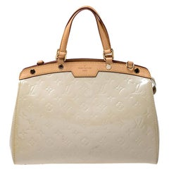 Louis Vuitton Vert Impression Monogram Vernis Brea MM Bag