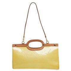 Louis Vuitton Vert Impression Monogram Vernis Roxbury Drive Bag