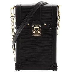Louis Vuitton Vertical Trunk Pochette Epi Leather