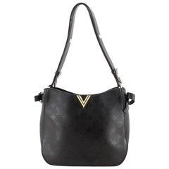 Louis Vuitton Very Hobo Monogram Leather