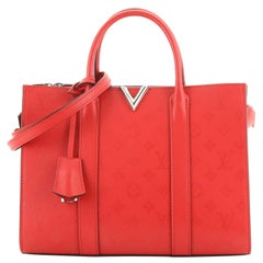 Louis Vuitton Very Tote Monogram Leather MM