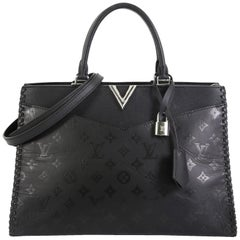 Louis Vuitton Very Zipped Tote Monogram Leather