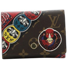 Louis Vuitton Victorine Compact Wallet NM Limited Edition Kabuki Monogram Canvas