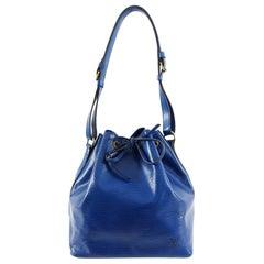 Louis Vuitton Vintage 1992 Blue Epi Petite Noe PM Bag