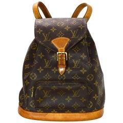Louis Vuitton Vintage 90s LV Monogram Canvas Montsouris MM Backpack Bag