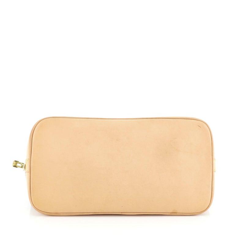 Women's or Men's Louis Vuitton Vintage Alma Handbag Monogram Canvas PM For Sale