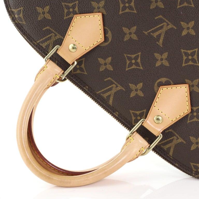 Louis Vuitton Vintage Alma Handbag Monogram Canvas PM For Sale 3