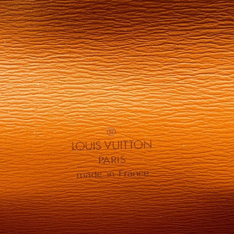 Louis Vuitton Vintage Beige Epi Leather Belt Bag Pouch For Sale 3