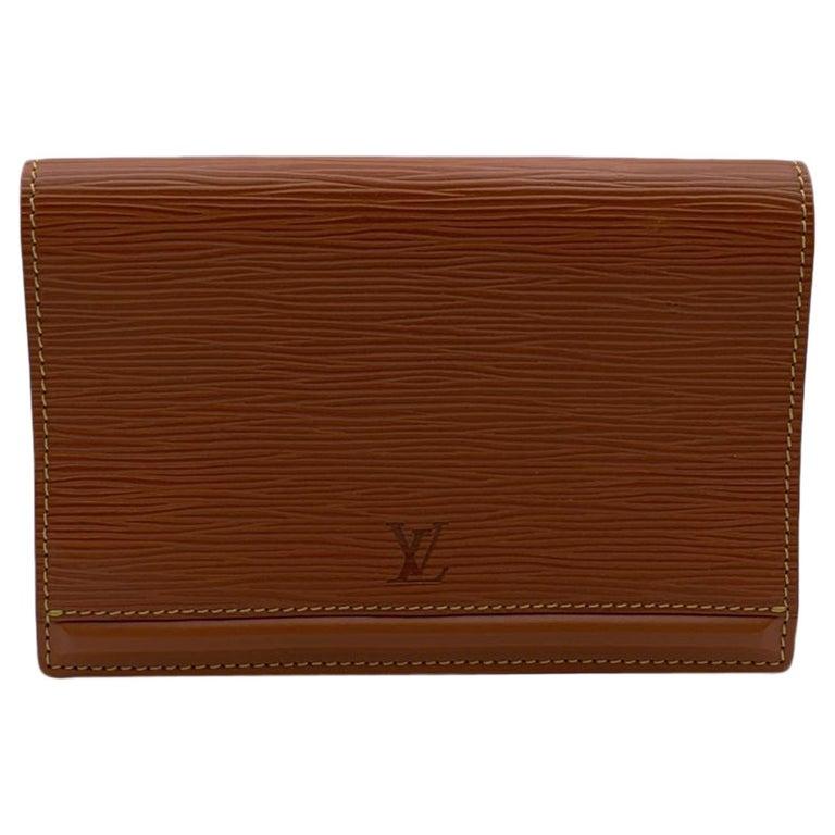 Louis Vuitton Vintage Beige Epi Leather Belt Bag Pouch For Sale