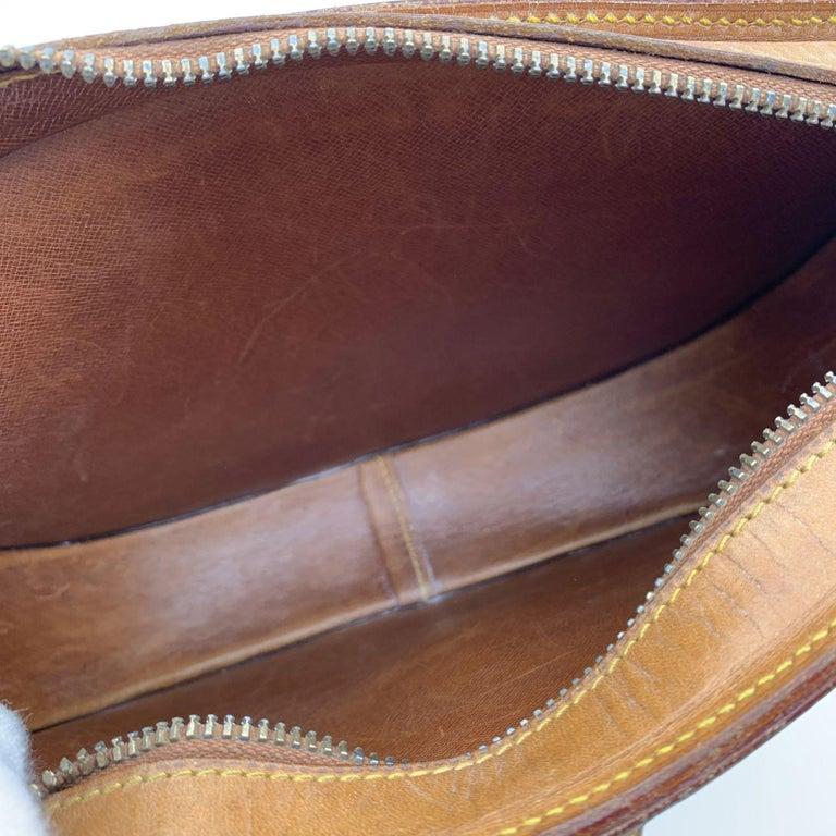 Louis Vuitton Vintage Beige Leather Jeune Fille Messenger Bag 3