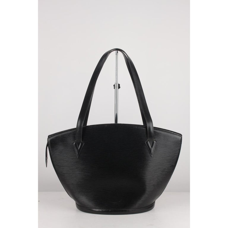 Sophisticated Saint Jacques Gm Shoulder Bag By Louis Vuitton Crafted In Black Epi