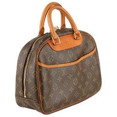 Louis Vuitton Vintage Brown Monogram Canvas Trouville Bag