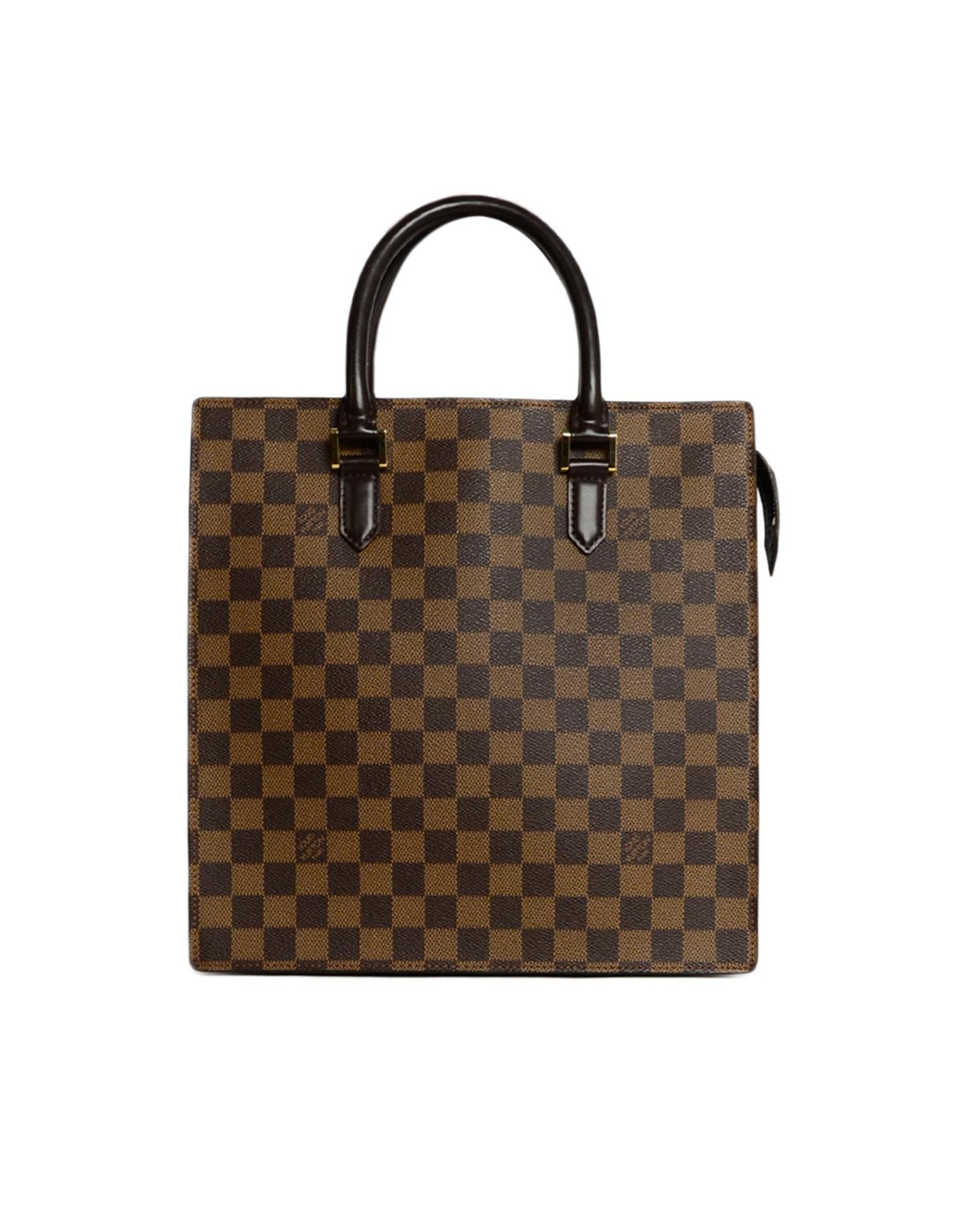 5134eaa88d33 Louis Vuitton Vintage Damier Ebene Coated Canvas Venice PM Sac Plat Handbag  For Sale at 1stdibs