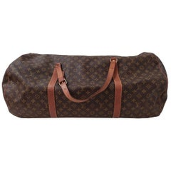 Louis Vuitton Vintage Keepall 65 Travel Bag